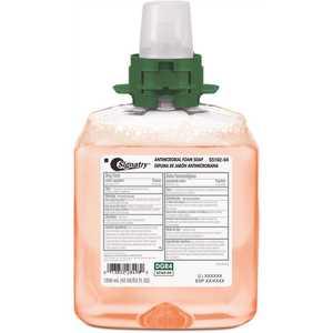 SIGNATRY 5162-04-SIG00DG Luxury 1250 mL Fresh Fruit Scented Antibacterial Foam Handwash Soap Dispenser Refill