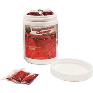 Disinfectant Cleaner Dissolvable Pacs ( Jar)