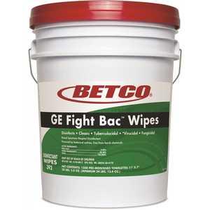 Betco 392F5-00 GE Fight Bac Wipes