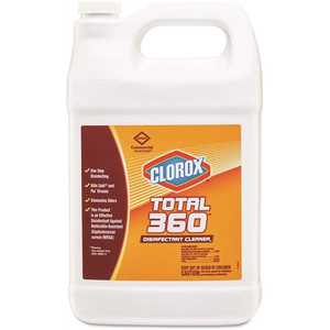 CLOROX CLO31650 128 oz. Total 360 Disinfectant Cleaner Bottle
