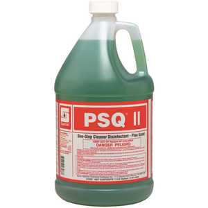 Spartan Chemical 103504 PSQ II 1 Gallon Scent One Step Cleaner Disinfectant