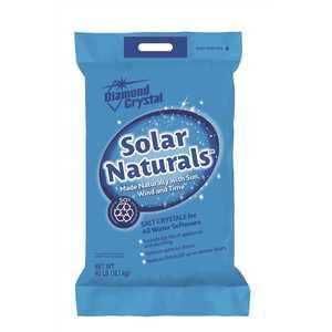 DIAMOND CRYSTAL 100012454 Solar Naturals Water Softener Salt Crystals