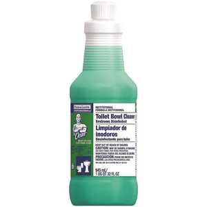 32 oz. Professional Square Bottle Liquid Toilet Bowl Cleaner/Restroom Disinfectant