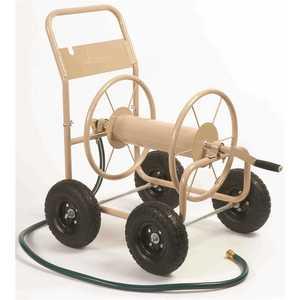 LIBERTY GARDEN 870 300 ft. Four Wheel Industrial Hose Cart