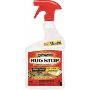 SPECTRACIDE HG-96427 Bug Stop 32 oz. Ready-to-Use Indoor Plus Outdoor Home Insect Control