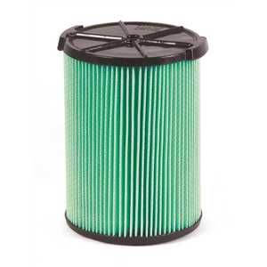 RIDGID VF6000 5-Layer HEPA Media Pleated Paper Filter for Most 5 Gal. and Larger Wet/Dry Shop Vacuums