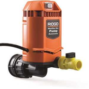 RIDGID VP2000 Quick Connect Pump Accessory for RIDGID Wet Dry Vacs