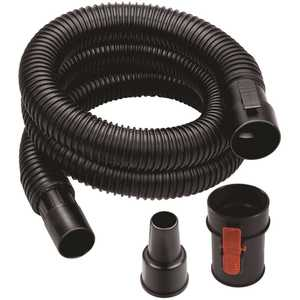 RIDGID VT1720 1-1/4 in. to 1-7/8 in. x 7 ft. Tug-A-Long Vacuum Hose for Wet Dry Vacs
