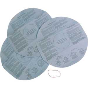 MULTI FIT VF2002 Disposable Dry Filter with Retainer Band for Select Shop-Vac Branded Wet/Dry Shop Vacuums