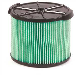 RIDGID VF3600 5-Layer HEPA Material Pleated Paper Filter for 3 to 4.5 Gal. RIDGID Wet/Dry Shop Vacuums