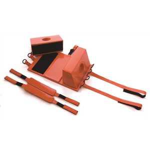 Kemp 10-001-ORG Head Immobilizer, Orange