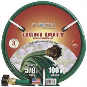 Flexon FR58100CN 5/8 in. Dia x 100 ft. Light Duty Garden Hose