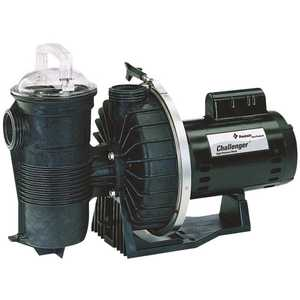 Challenger PAC-10-331 Single Speed 2 Horse Power Up Rated High Head Pressure Pool Pump