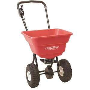 EARTHWISE #2050P 80 lbs. Estate Grade Spreader with Pneumatic Wheels