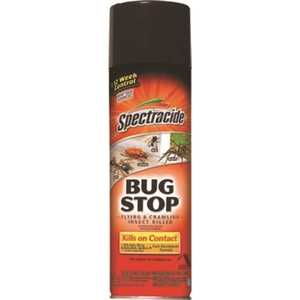 SPECTRACIDE HG-96235 Bug Stop 16 oz. Aerosol Flying and Crawling Insect Killer