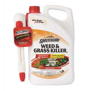 SPECTRACIDE HG-96370-1 Weed and Grass Killer 1.3 gal. Accushot Sprayer