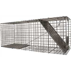 Havahart 1079 Large 1-Door Professional Live Animal Cage Trap for Raccoon, Opossum, Groundhog, and Feral Cat
