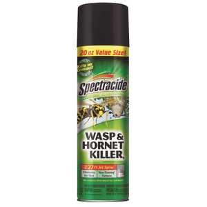 SPECTRACIDE HG-95715-3 20 oz. Wasp and Hornet Aerosol Spray Killer