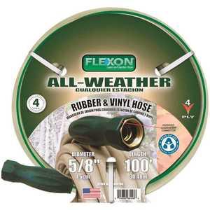 Flexon FAW58100 5/8 in. x 100 ft. All-Weather Garden Hose