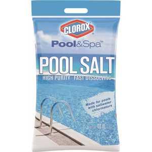 CLOROX 40B-CLXPOOL 40 lbs. Pool Salt