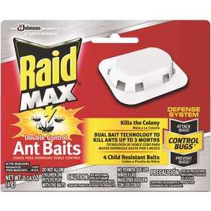RAID 676352 Double Control 0.14 oz. Ant Baits