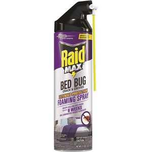 Raid Max 305739 17.5 oz. FoamingCrack and Crevice Bed Bug Killer