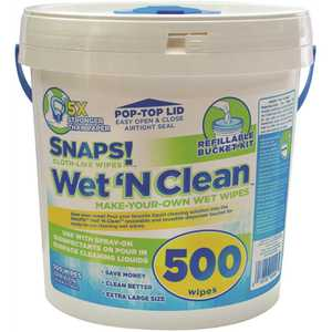 Intex NW-00456-5001 SNAPS! Wet N Clean Bucket