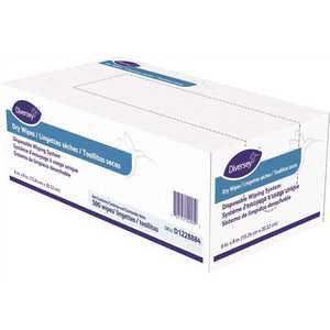 Diversey, Inc. D1228884 Diversey 1.5 lbs. White Polypropylene Boxed All-Purpose for Cleaning and Sanitizing Dry Wipes