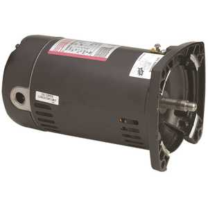 Century QC1102 QC1102 SQUARE FLANGE POOL FILTER MOTOR, 115 / 208 - 230 VOLTS, 16.0 - 8.0 MAX AMPS, 1 HP, 3,450 RPM