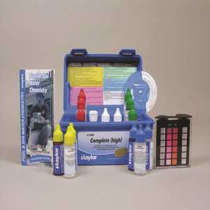 TAYLOR TAY-45-1147 K-2005 Complete Test Kit Shock stabilizer Free Chlorine Water Hardness PH