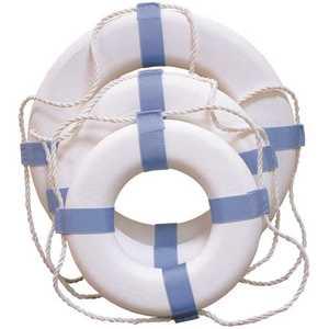 Reels 24 in. White Ring Buoy