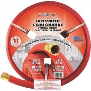 Flexon FAR3450 3/4 in. Dia x 50 ft. Premium Hot Water Rubber Hose