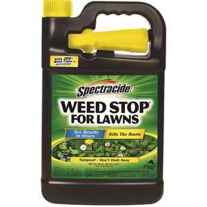 SPECTRACIDE HG-95833-3 Weed Stop for Lawns 128 oz ready-to-use