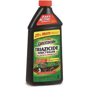 SPECTRACIDE HG-55829-5 40 oz. Triazicide Insect Killer for Lawns and Landscapes Concentrate