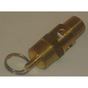 ALC Abrasive Blasters / S&H Industries 40229 Pressure Relief Valve - 125 PSI for Pressure Blasters