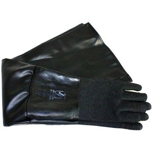 ALC Abrasive Blasters / S&H Industries 40249 Gloves - 33IN x7IN Lined Blast Gloves/ Pair for Blast Cabinets