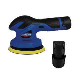 Astro Pneumatic Tool Company 3026 3026 Cordless Variable Speed Palm Polisher, 6 in Dia Pad