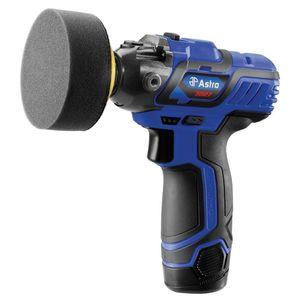 Astro Pneumatic Tool Company 3027 3027 Cordless Mini Pistol Polisher, 3 in Dia Pad, 5/16 in - 24 TPI Arbor/Shank, Ergonomic Handle