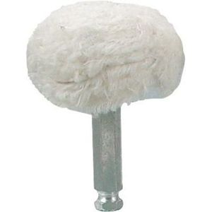 Astro Pneumatic Tool Company 3059-03 3059-03 Mushroom Shaped Buffing Pad, 3 in, 100% Cotton, White