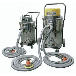 Uni-ram UR700QVAC-24 UR700QVAC-24 Portable Dustless Dual Sanding Vacuum, 120 V, 1000 W, 41 in H x 31 in W x 21 in D