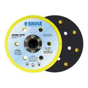 KOVAX® 01456 01456 Disc Pad, 6 in, 5/16-24 Arbor/Shank, Super-Tack Attachment, 15 Holes