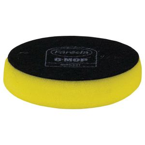 Farecla GMC312 GMC312 Compounding Pad, 3 in Dia, Hook and Loop Attachment, Foam Pad, Yellow