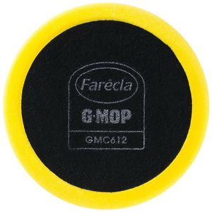 Farecla GMC612 GMC612 Compounding Pad, 6 in Dia, Hook and Loop Attachment, Foam Pad, Yellow