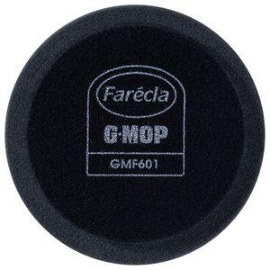 Farecla GMF601 GMF601 Finishing Pad, 6 in Dia, Hook and Loop Attachment, Foam Pad, Black
