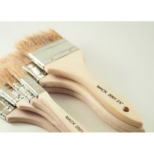 ANDREW MARK 2001-05 2001-05 2001 Series All Purpose Throw-Away Chip Brush, 1/2 in, Wood Handle, Natural White
