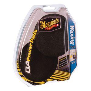 Meguiar's G3509 G3509 Dual Action Waxing Power Pad, 4 in Dia, Foam Pad, Black