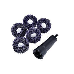 Scotch-Brite™ 21758 21758 XO-DR Series Brake Hub Cleaning Disc Kit, Extra Coarse Grade, 20000 rpm, Purple