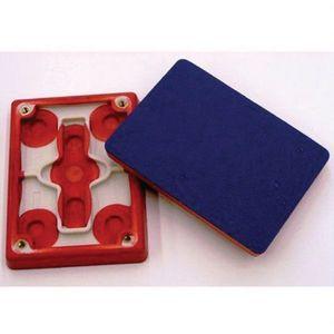 3M 28660 28660 Regular Molded Sheet Pad, 7-3/4 in Dia L x 2-3/4 in W, PSA Attachment, Foam