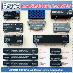 MOTOR GUARD DP-5000 DP-5000 Sanding Block Jobber Display Board, 24 in L x 24 in W x 1 in H
