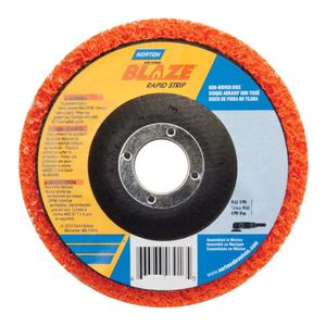 Norton® 03783 03783 Non-Woven Type 27 Depressed Center Grinding Disc, 4-1/2 in Dia, 60 Grit